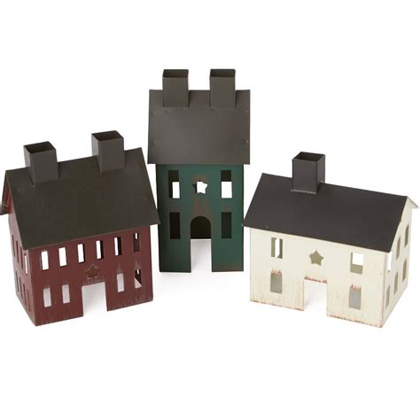 colonial saltbox rustic colonial saltbox house set what s new primitive