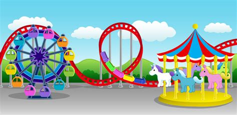 theme park clipart gallery funny game amusement park clipart