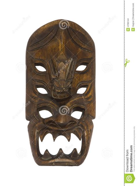 small traditional ifugao mask philippines stock images