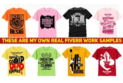 design t shirt murah create trendy t shirt design by kumarsingh