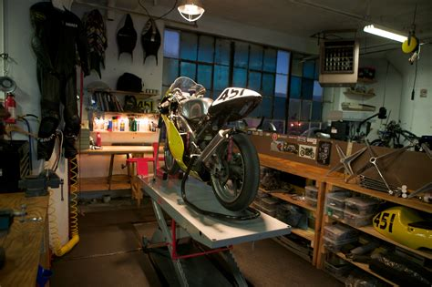 Motorcycle Garage by Motorcycle Garages Octane Press