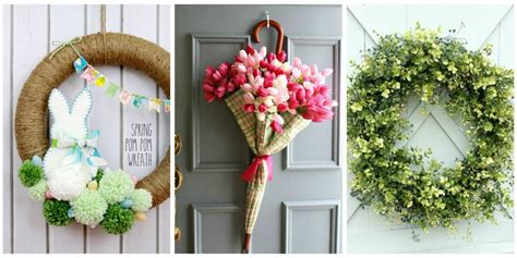 wreath ideas for front door spruce up your front door with these diy wreath ideas