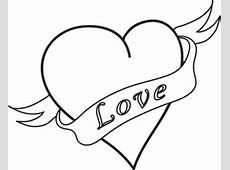 Free Heart Clipart Image 0071-0905-3117-1842 | Valentine ... Easy Drawings Of Hearts With Ribbons