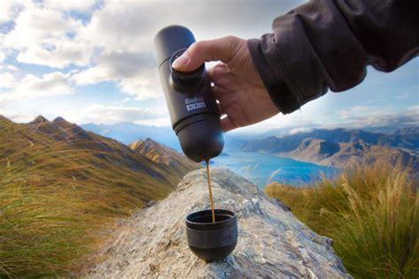 Minipresso Gr Manual Espresso Maker Wacaco the world s smallest outdoor espresso maker design milk