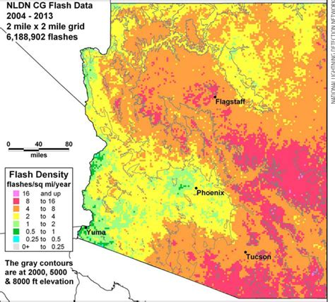 arizona population density map az elevation map