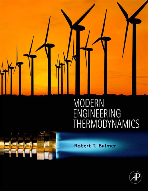 modern engineering thermodynamics textbook  tables booklet  robert  balmer dr