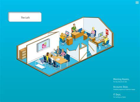 online house builder rod hunt illustration studio illustration and map design