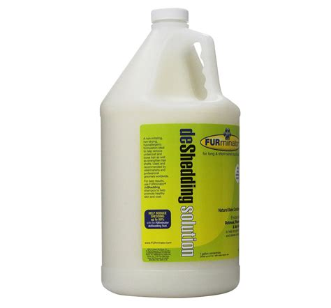 Shedding Solutions by Furminator Deshedding Solution Shoo 3 8 Liters