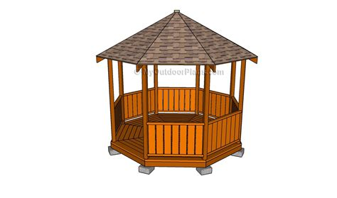 diy gazebo plans ideas  build  step
