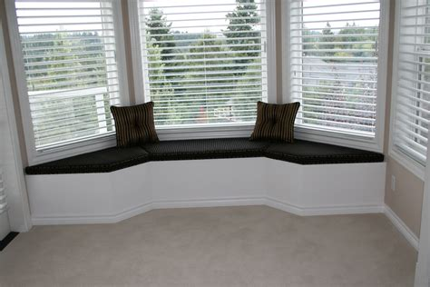 Bay Window Bench Bay Window Seat Bench With Cushions And Wall Sconce Built In Bookcase Storage Andrea Outloud