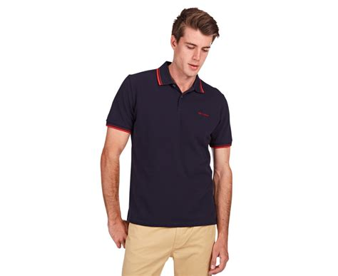 Ben Sherman Mens Romford Polo Staples Navy 100 Original ben sherman s romford polo staples navy ebay