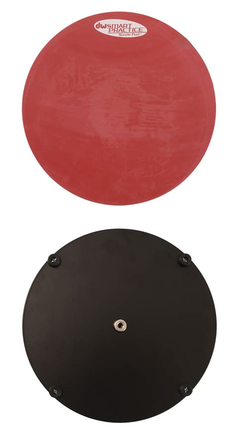 Drum Pad Besar 10 Inch dw 10 inch snare sizzle practice drum pad rainbow guitars