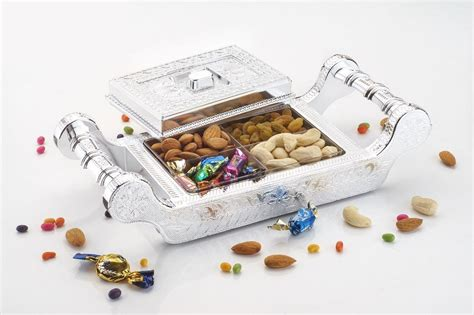 decorative boxes for dry fruits kuber industries dry fruit box serving tray decorative