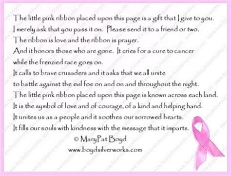 caretakers poem brain cancer awareness pink ribbon poem breast cancer awareness month the