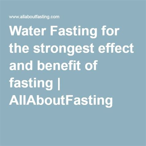 Water Fasting Detox Benefits by 25 Best Water Fasting Ideas On Digestive