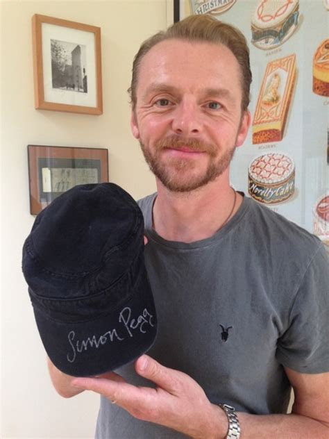 simon pegg biography book alzheimers research uk peggster