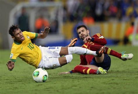 fotos de deportistas con pene erecto confederations cup final review brilliant brazil 3 0