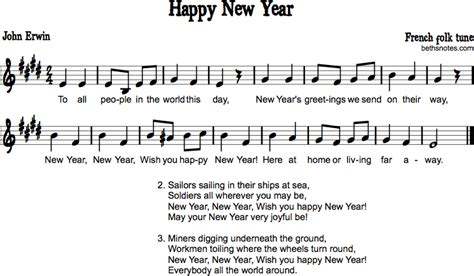 happy  year   people beths notes