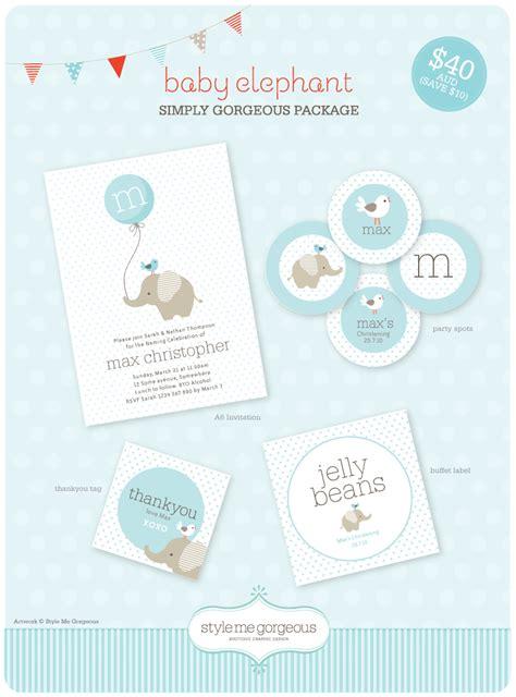Free Baby Elephant Printables