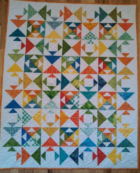 quilt pattern kissing fish you have to see kissing fish baby quilt by houzoomom