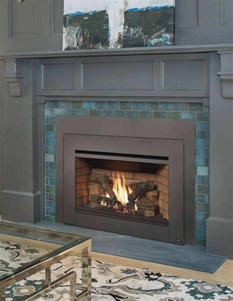installing gas fireplace insert gas inserts heartland hearth