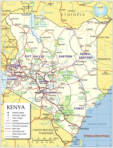 map of kenya political map of kenya caroline s