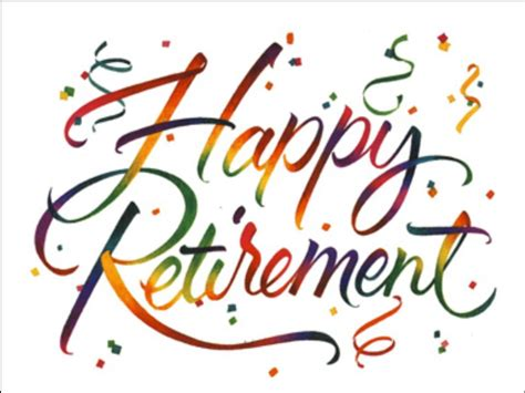 happy images free happy retirement free clipart