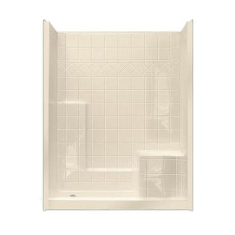 ella standard 32 in x 60 in x 77 in walk in shower