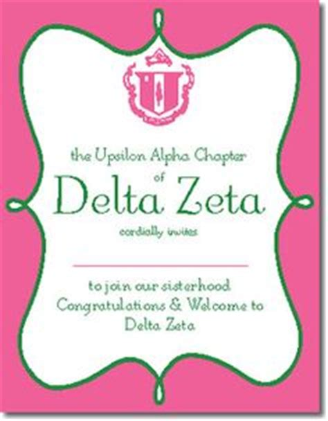 bid day card sorority template maker 1000 images about sorority on tea theme