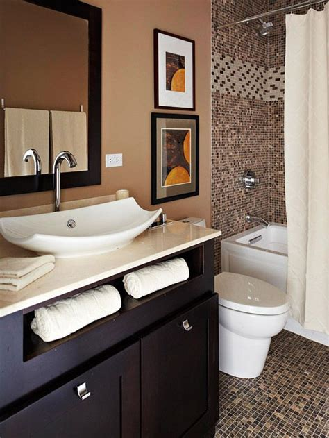 brown bathroom 35 dark brown bathroom floor tile ideas and pictures
