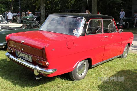 opel kadett 1960 1965 opel kadett l rear view 1960s paledog photo