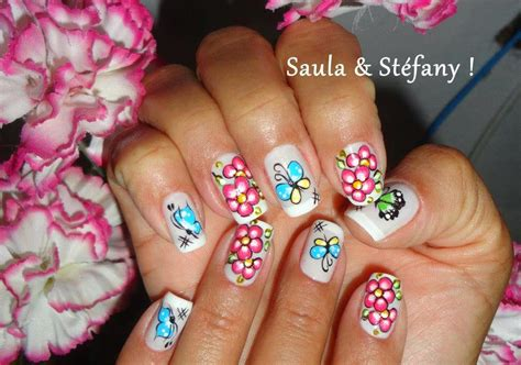 imagenes de uñas decoradas bonitas y faciles chicas u 241 as decoradas