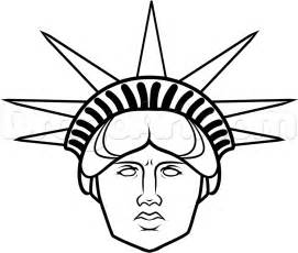 How To Draw The Statue Of Liberty Easy Pictures 1  Apps Directories sketch template