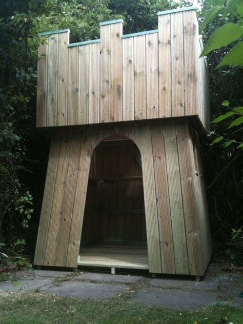 castle playhouse indoor woodworking projects plans