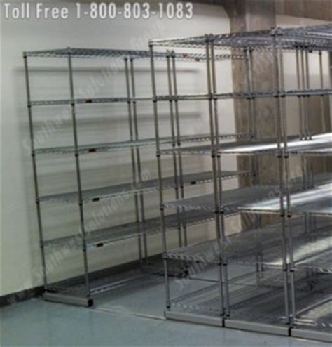 The Rack Baton by Wire Storage Shelving New Orleans Mobile Wire Racking