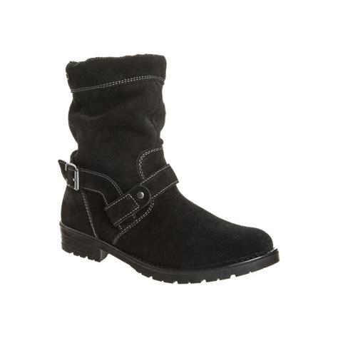 rajsa 78222 091 black suede waterproof boot