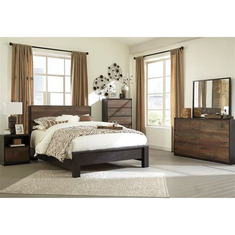 Signature Design By Ashley Windlore Queen Bedroom Group Furniture Signature Design Bedroom Set