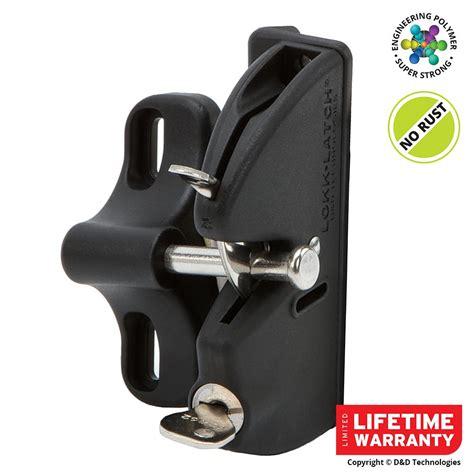 lokk latch d d black key lockable gate latch 50560 the