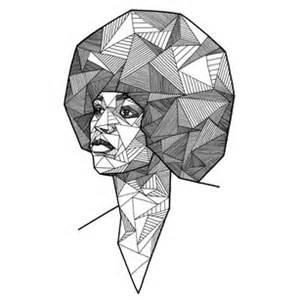 Geometric portraits by allison kunath cool hunting