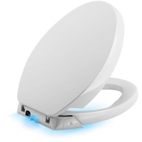 new toilet seat home depot kohler purefresh elongated closed front toilet seat in