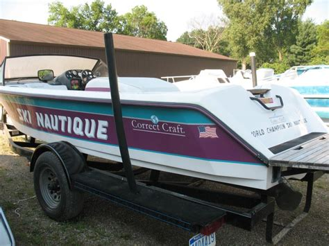 nautique boats for sale michigan correct craft boats for sale in manitou beach michigan
