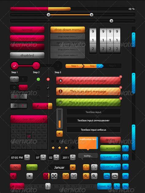 design ui elements 35 high quality psd ui web design elements smashingapps com