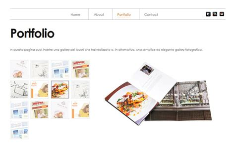 layout portfolio cartaceo whitefolio un template free per un portfolio ma non solo