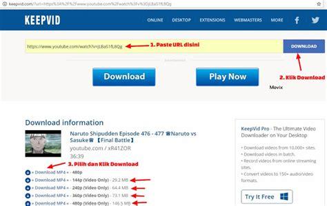 cara download di indoxxi youtube cara download youtube tanpa software format mp4 webm 3gp