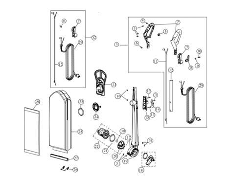 riccar vacuum parts diagram riccar supralite rsl3c parts