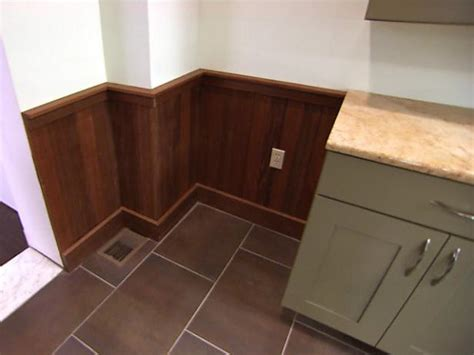 Stained Wainscoting by Diy Wainscoting Projects Ideas Diy