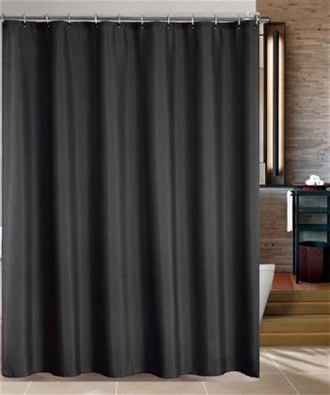 black fabric shower curtain black double swag shower curtain