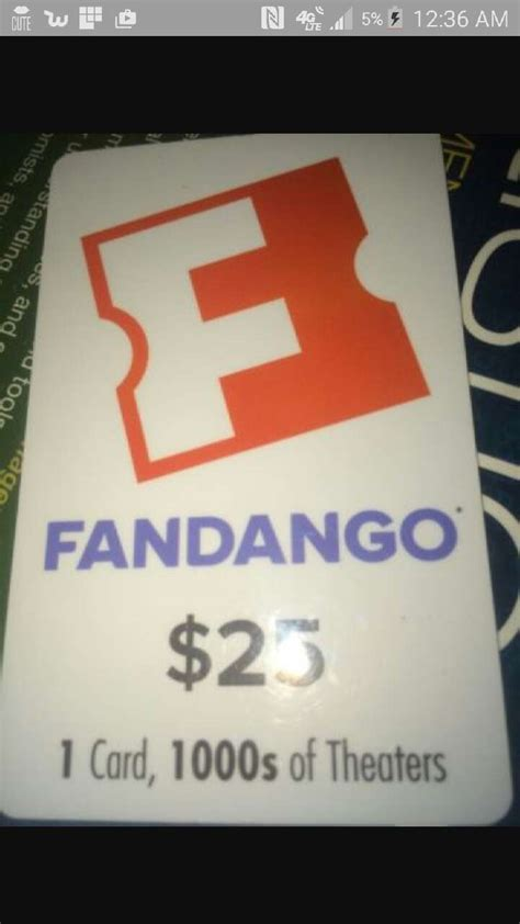 What Is A Fandango Gift Card - letgo fandango gift card in hubley pa