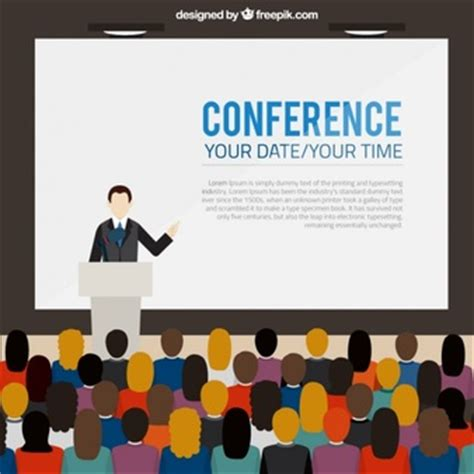 conference vectors photos and psd files free download