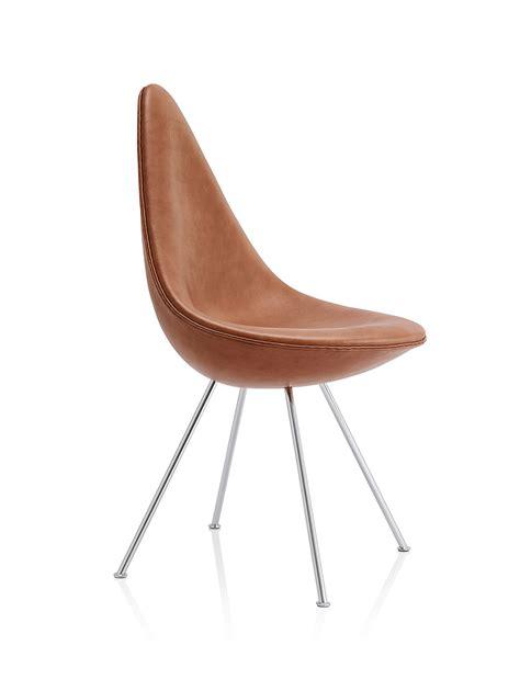 Fritz Hansen Chair by Arne Jacobsen Drop Chair Revival By Fritz Hansen